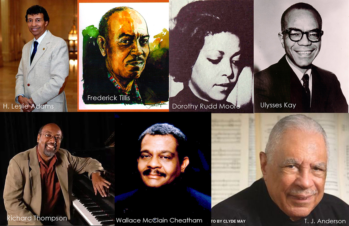 Black composers at ACA