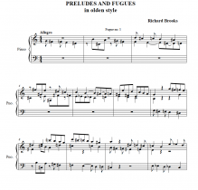 Brooks_Preludes and Fugues Olden Thumbnail