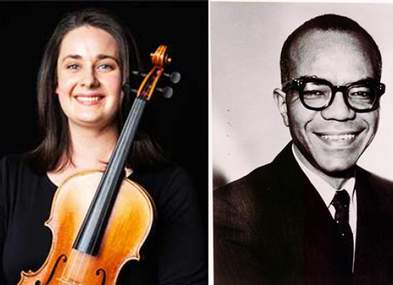 Mary Ferrillo, violist - Ulysses Kay, composer
