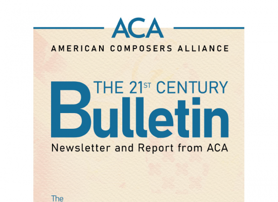 ACA Bulletin Magazine April 2021